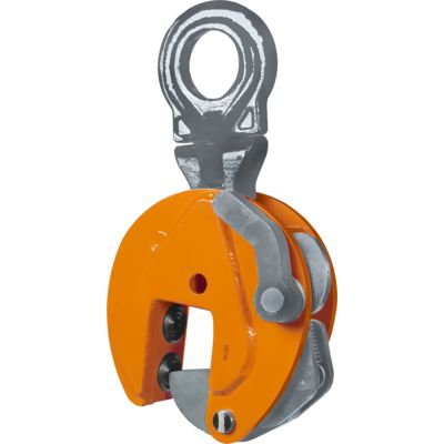 CBU Lightweight Holland profile (Hp) clamp for universal lifting