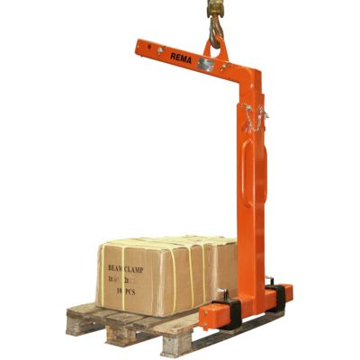 RPHA pallet hooks with automatic balancing