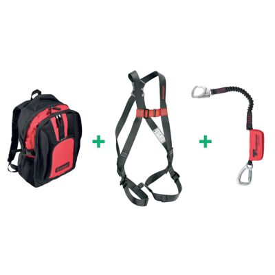 Harness C2 Simple, EH20/OV with small hook and backpack